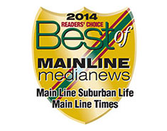 Reader's Choice Best of the Main Line 2014